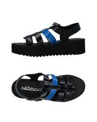 Sixtyseven - Blue Sandals - Lyst