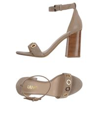 Liu Jo - Natural Sandals - Lyst