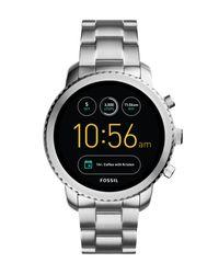 Fossil Metallic Smartwatch for men