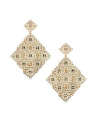 Jolie By Edward Spiers - Metallic Earrings - Lyst