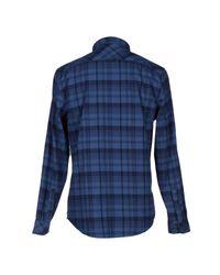 NN07 Blue Shirt for men