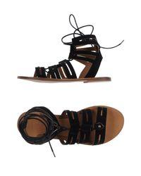 Divine Follie - Black Sandals - Lyst