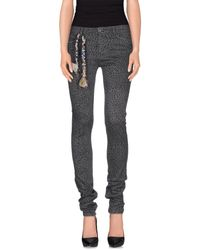 TRUE NYC - Black Casual Pants - Lyst