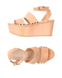 Twin Set - Natural Sandals - Lyst