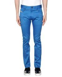 DIESEL - Blue Casual Pants for Men - Lyst