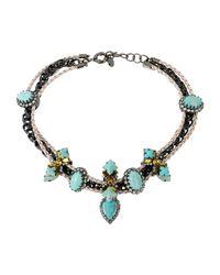 Elizabeth Cole - Black Necklace - Lyst