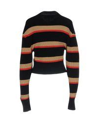 MSGM - Black Sweater - Lyst