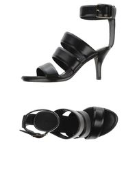 Alexander Wang - Black Sandals - Lyst