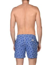 Hartford - Blue Swim Trunks for Men - Lyst