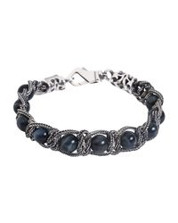 Emanuele Bicocchi - Metallic Bracelet for Men - Lyst