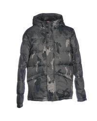 Rossignol - Gray Down Jacket for Men - Lyst