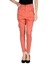 Superfine - Brown Denim Trousers - Lyst