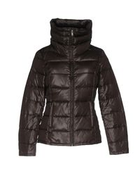 Bomboogie - Brown Down Jacket - Lyst