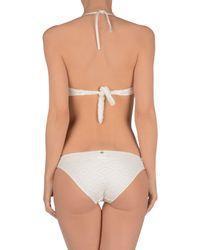 Brigitte Bardot - White Bikini - Lyst