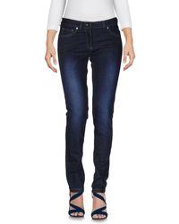 Jucca - Blue Denim Trousers - Lyst