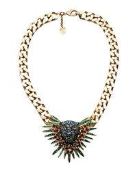 Schield - Metallic Necklace - Lyst