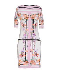 Angelo Marani - Multicolor Short Dress - Lyst