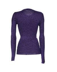 DSquared² - Purple Sweater - Lyst