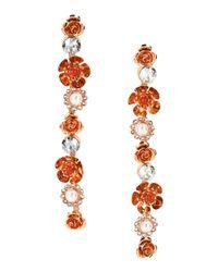 Ca&Lou | Red Earrings | Lyst