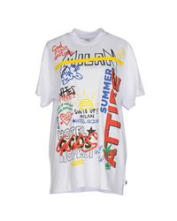 Gcds - White T-shirt - Lyst