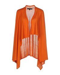 Ralph Lauren Black Label - Orange Cardigan - Lyst