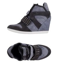 Alberto Guardiani - Gray High-tops & Sneakers - Lyst