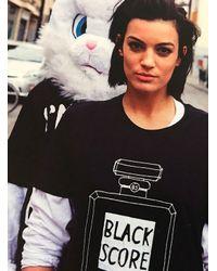 Simeon Farrar - Black Perfume Bottle Long Sleeved Tee - Lyst
