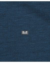 Weekend Offender - Blue Paradise Short Sleeve Polo for Men - Lyst