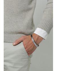 Icon Brand | Black Pay Attention Bracelet for Men | Lyst