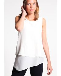 BOSS Orange | White Evelo Blouse | Lyst