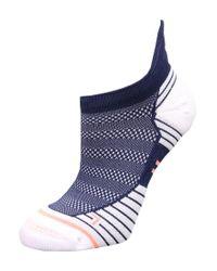 Stance | Blue Run Motion Tab Trainer Socks for Men | Lyst