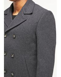 Knowledge Cotton Apparel | Gray Short Coat for Men | Lyst
