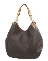 MICHAEL Michael Kors   Brown Fulton Handbag   Lyst