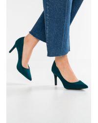 New Look   Blue Simple Classic Heels   Lyst