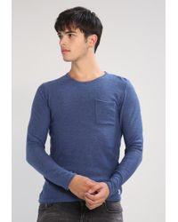 Blend   Blue Slim Fit Jumper for Men   Lyst