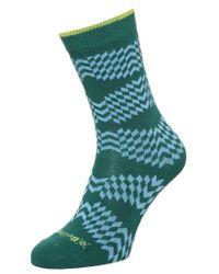 Smythson | Green Mirror Socks for Men | Lyst