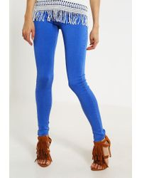 Dorothy Perkins | Blue Frankie Jeans Skinny Fit | Lyst
