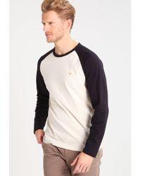Farah | White The Holmwood Long Sleeved Top for Men | Lyst