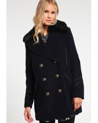 Free People | Blue Sedgwick Short Coat | Lyst