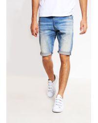 G-Star RAW | Blue Arc-z 3d 1/2 Denim Shorts for Men | Lyst