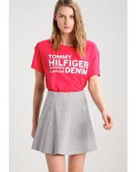Hilfiger Denim | Red Print T-shirt | Lyst