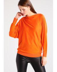 Lauren by Ralph Lauren | Orange Tongmee Jumper | Lyst