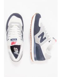 New Balance | Blue Ml574rsa Trainers for Men | Lyst
