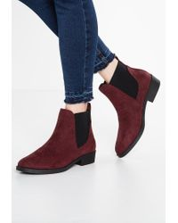 New Look | Red Carly Ankle Boots | Lyst