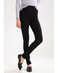 Noisy May Tall | Black Nmlexi Jeans Skinny Fit | Lyst