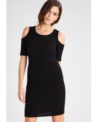ONLY | Black Onlroma Jersey Dress | Lyst