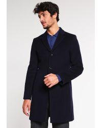 Reiss | Blue Gabriel Classic Coat for Men | Lyst