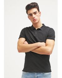 Scotch & Soda | Black Polo Shirt for Men | Lyst