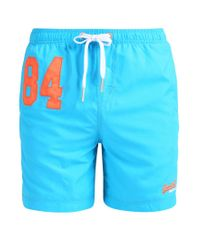 Superdry | Blue Swimming Shorts for Men | Lyst
