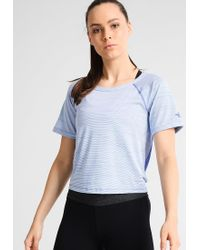 The North Face | Blue Motivation Sports Shirt | Lyst